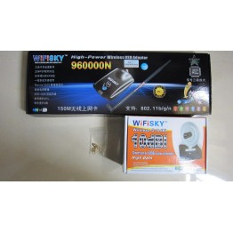 960000N Wifisky RTL8187L USB Wireless Adapters Network Card With 10DBi Antenna